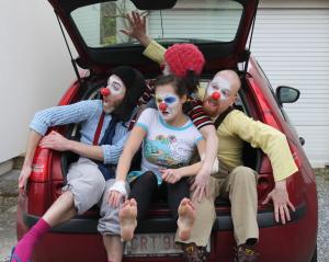 Clownarium voiture